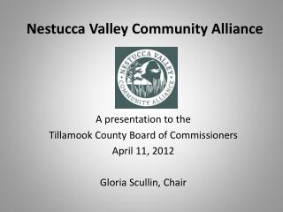 Nestucca  Valley Community Alliance