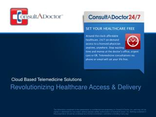 Revolutionizing Healthcare Access & Delivery