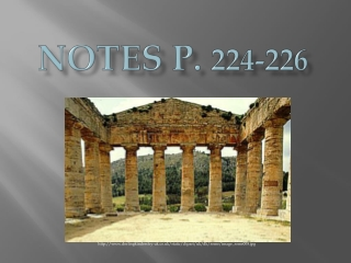 Notes p.  224-226
