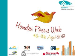 Homeless Persons Week