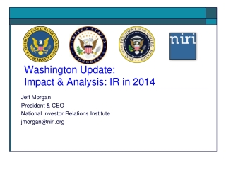 Washington Update: Impact & Analysis: IR in 2014