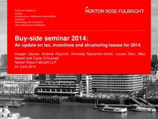 Buy-side seminar 2014: