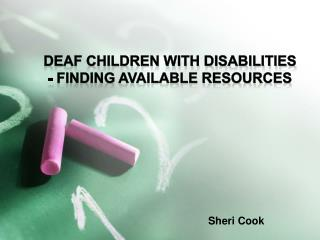 Sheri Cook