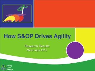 How S&OP Drives Agility