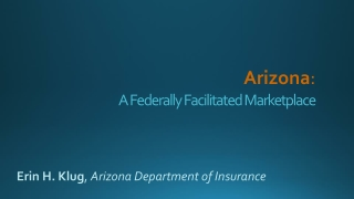 A Federally Facilitated Marketplace