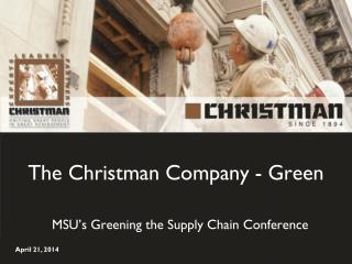 The Christman Company - Green