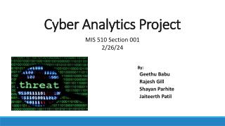 Cyber Analytics Project
