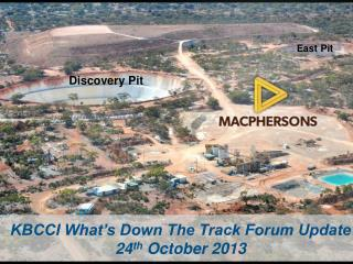 KBCCI What's Down The Track Forum Update 24 th  October 2013