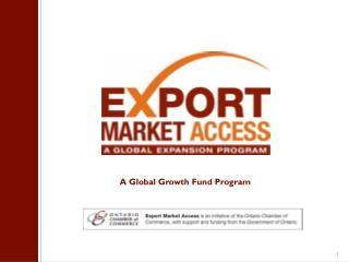 A Global  Growth  Fund Program