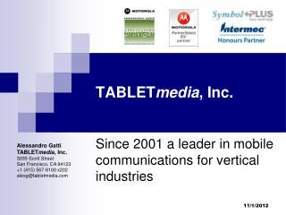 TABLET media , Inc.