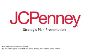 Strategic Plan Presentation