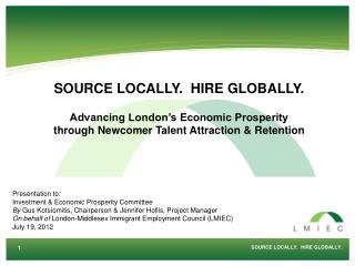 SOURCE LOCALLY.  HIRE GLOBALLY.
