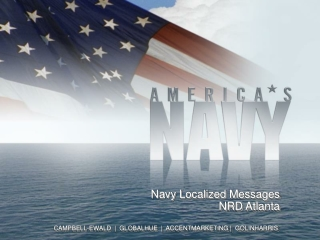 Navy Localized  Messages NRD Atlanta