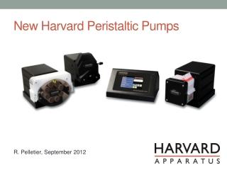 New Harvard Peristaltic Pumps