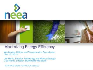 Maximizing Energy Efficiency