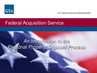 An Introduction to the Personal Property Disposal Process