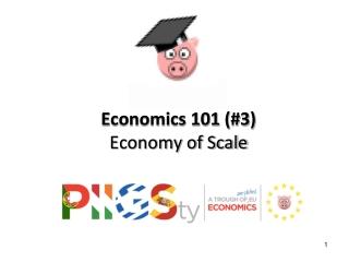 Economics 101  (#3)  Economy  of Scale