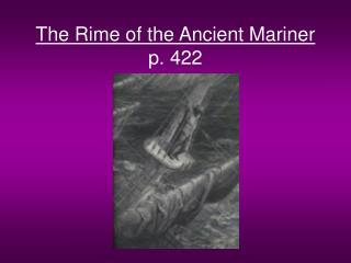 the rime of the ancient mariner p. 422