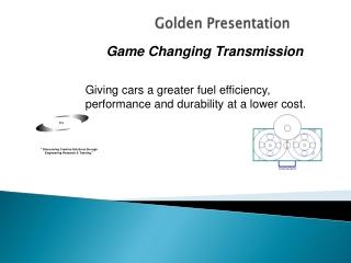 Golden Presentation