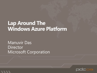 Lap Around The  Windows Azure Platform