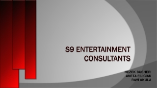 S9 ENTERTAINMENT CONSULTANTS
