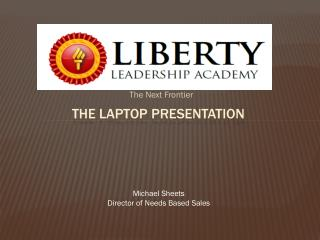 The Laptop Presentation