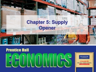 Chapter 5: Supply Opener