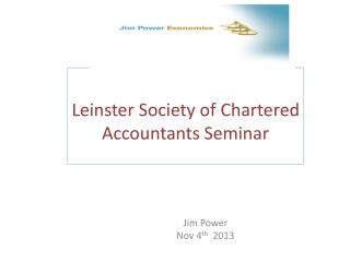Leinster  Society of Chartered Accountants Seminar