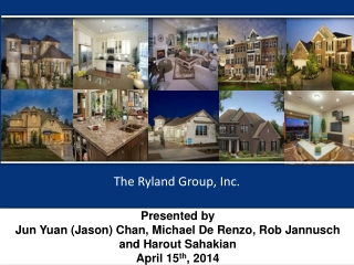 Presented by Jun Yuan (Jason) Chan, Michael  De Renzo , Rob  Jannusch  and  Harout Sahakian April 15 th , 2014