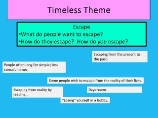 Timeless Theme