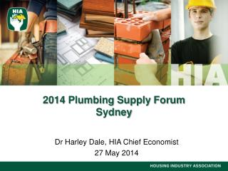 2014 Plumbing Supply Forum Sydney