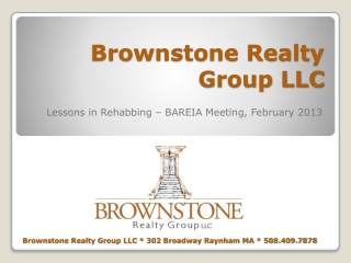 Brownstone Realty Group LLC