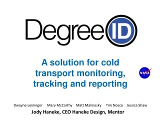A solution for  cold  transport  monitoring, tracking and  reporting