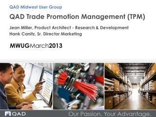 QAD Trade Promotion Management (TPM)