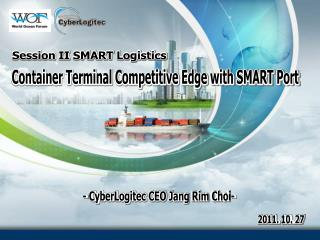Session II SMART Logistics