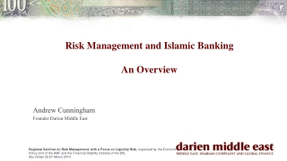 Risk Management and Islamic Banking An Overview