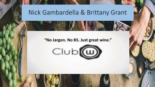 Nick Gambardella & Brittany Grant