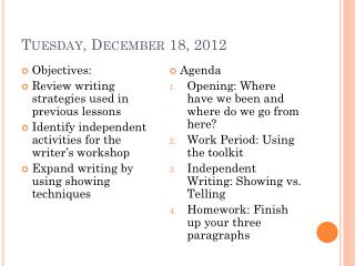 Tuesday, December 18, 2012