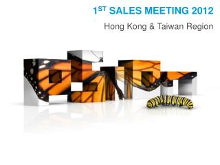 1 st  Sales meeting 2012