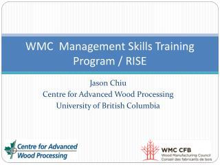 WMC  Management Skills Training Program / RISE