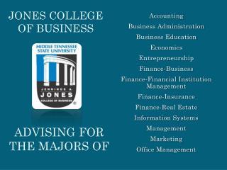 Jones college of business