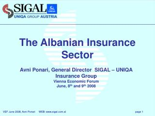 the albanian insurance sector
