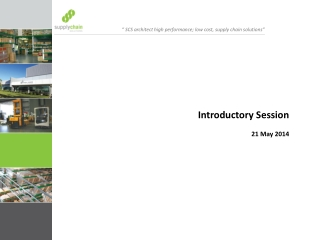 Introductory Session 21 May 2014