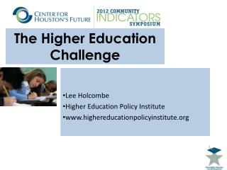 The Higher Education Challenge