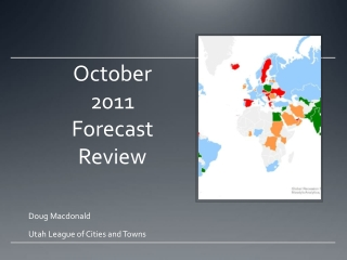 October 2011 Forecast Review