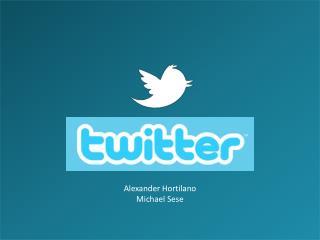 Alexander  Hortilano Michael Sese
