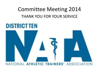 Committee Meeting 2014