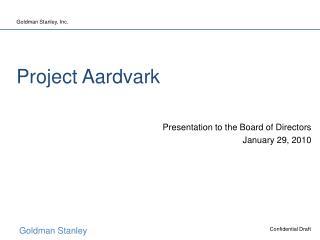 Project Aardvark