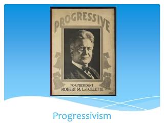 Progressivism