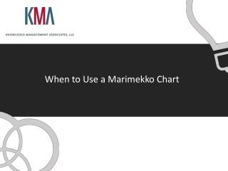 When to Use a  Marimekko  Chart